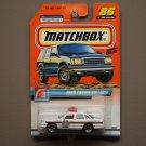 Matchbox 2000 Police Patrol '97 Ford Crown Victoria (white) (Logo Car)