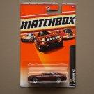 Matchbox 2010 VIP Series Jaguar XK (burgundy)