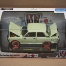 M2 Machines 2017 Auto-Japan 1:24 '70 Datsun 510 (green) (CHASE)