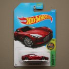 Hot Wheels 2017 HW Exotics Aston MArtin ONE-77 (red)
