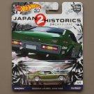 Hot Wheels 2018 Car Culture Japan Historics 2 Nissan Laurel 2000 SGX