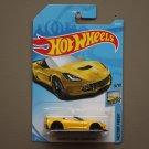 Hot Wheels 2018 Factory Fresh Corvette C7 Z06 Convertible (yellow)