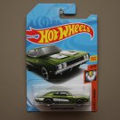 Hot Wheels 2018 Muscle Mania '69 Dodge Charger 500 (green)