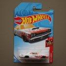 Hot Wheels 2018 HW Flames '69 Dodge Coronet Super Bee (white)