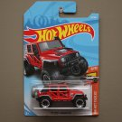 Hot Wheels 2018 HW Hot Trucks '17 Jeep Wrangler (red)
