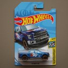 Hot Wheels 2018 HW Speed Graphics '15 Ford F-150 (blue)