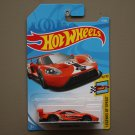 Hot Wheels 2018 Legends Of Speed '16 Ford GT Race (orange)