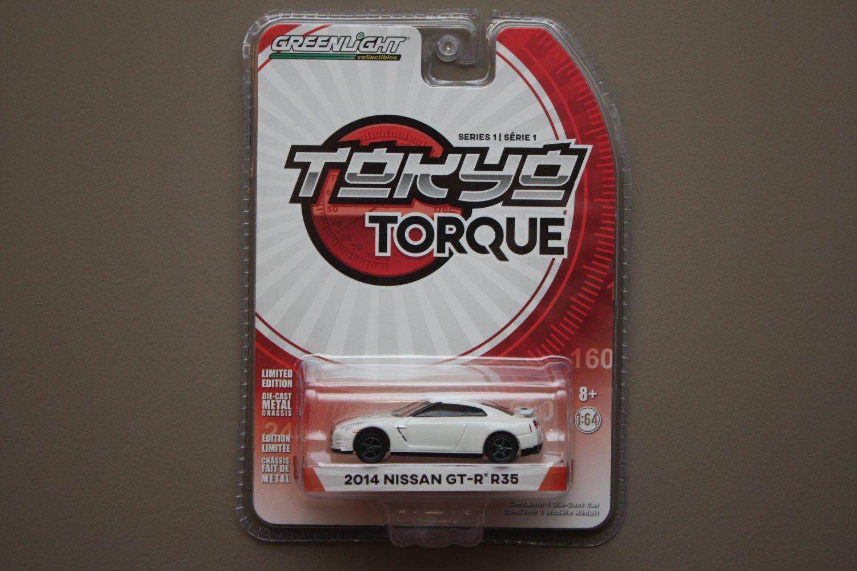 Greenlight Tokyo Torque Series 1 2014 Nissan GT-R [R35]