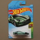 Hot Wheels 2018 HW Exotics Aston Martin ONE-77 (green)