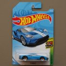 Hot Wheels 2018 HW Exotics '17 Ford GT (blue)