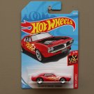 Hot Wheels 2018 HW Flames Custom '67 Pontiac Firebird (red)