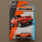 Matchbox 2016 MBX Adventure City Land Rover Range Rover Evoque (orange) (SEE CONDITION)