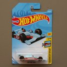 Hot Wheels 2018 Legends Of Speed '11 Indy 500 Oval Course Race Car (gulf blue)
