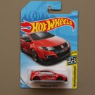 Hot Wheels 2018 HW Speed Graphics '16 Honda Civic Type R (red)
