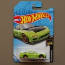 Hot Wheels 2018 Nightburnerz '95 Mazda RX-7 (green)