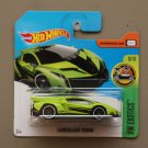 Hot Wheels 2017 HW Exotics Lamborghini Veneno (green)