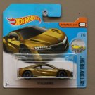 Hot Wheels 2017 Factory Fresh '17 Acura NSX (Super Treasure Hunt) (SEE CONDITION)