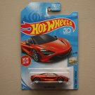 Hot Wheels 2018 Factory Fresh McLaren 720S (orange)