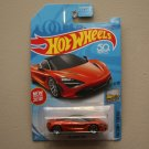 Hot Wheels 2018 Factory Fresh McLaren 720S (orange) (SEE CONDITION)