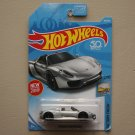 Hot Wheels 2018 Factory Fresh '17 Porsche 918 Spyder (silver) (SEE CONDITION)