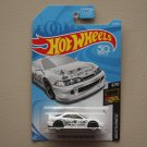 Hot Wheels 2018 Nightburnerz Custom '01 Acura Integra GSR (white) (SEE CONDITION)