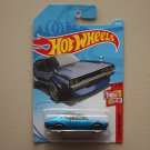 Hot Wheels 2018 Then And Now Nissan Skyline 2000 GT-R (blue) (SEE CONDITION)