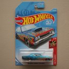 Hot Wheels 2018 HW Flames '69 Dodge Coronet Super Bee (blue) (SEE CONDITION)