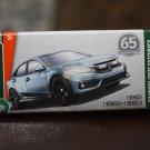 Matchbox 2018 MBX Road Trip '17 Honda Civic Hatchback (blue)