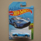 Hot Wheels 2018 HW Exotics '17 Ford GT (blue) (SEE CONDITION)