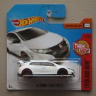 Hot Wheels 2017 Then And Now '16 Honda Civic Typer R (white)
