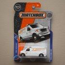 Matchbox 2018 MBX Service Ford Panel Van (white)