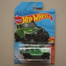 Hot Wheels 2018 HW Hot Trucks '17 Jeep Wrangler (green)