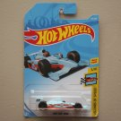 Hot Wheels 2018 Legends Of Speed '11 Indy 500 Oval Course Race Car (gulf blue) (SEE CONDITION)