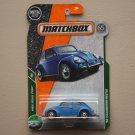 Matchbox 2018 MBX Road Trip '62 Volkswagen Beetle (blue)