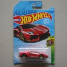 Hot Wheels 2018 HW Exotics Lamborghini Aventador Miura Homage (burgundy) (SEE CONDITION)