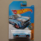 Hot Wheels 2017 Surf's Up '71 Datsun Bluebird 510 Wagon (blue) (SEE CONDITION)