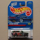 Hot Wheels 1998 Collector Series Land Rover Range Rover (green) (SEE CONDITION)
