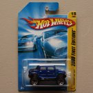 Hot Wheels 2008 First Editions Hummer H2 SUT (blue)
