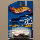 Hot Wheels 2001 Collector Series '56 Ford F-100 (silver) (Harley Davidson)