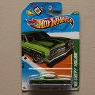 Hot Wheels 2012 Treasure Hunts '65 Chevy Malibu (green) (SEE CONDITION)