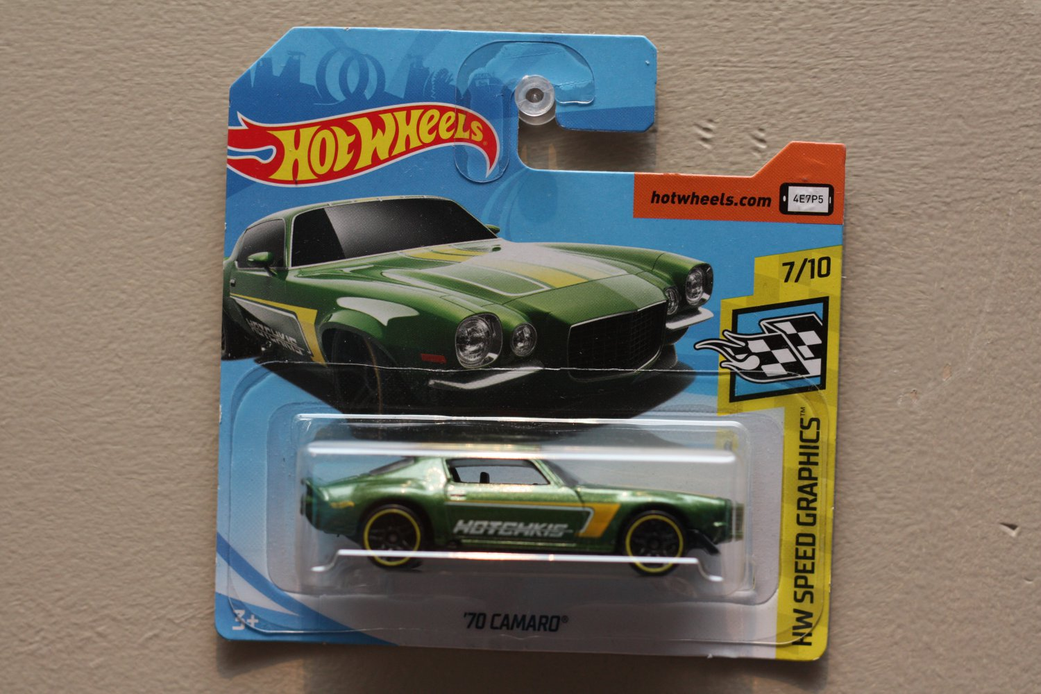 Hot Wheels 2018 Legends Of Speed '70 Camaro (green)