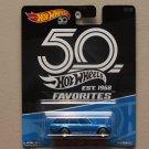 Hot Wheels 2018 50th Anniversary Favorites Series '71 Datsun Bluebird 510 Wagon