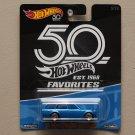 [TAMPO ERROR] Hot Wheels 2018 50th Anniversary Favorites Series '71 Datsun Bluebird 510 Wagon