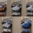 Hot Wheels 2017 Car Culture Cars & Donuts (COMPLETE SET) (McLaren, BMW, Subaru, Alfa Romeo, Datsun)