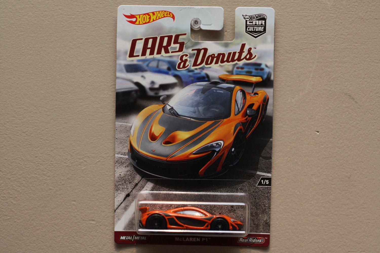 Hot Wheels 2017 Car Culture Cars & Donuts McLaren P1