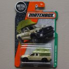 Matchbox 2017 MBX Explorers '16 Toyota Tacoma (tan) (SEE CONDITION)