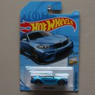 Hot Wheels 2018 Factory Fresh '16 BMW M2 (blue) (SEE CONDITION)