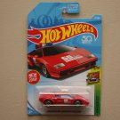 Hot Wheels 2018 HW Exotics Lamborghini Countach Pace Car (red) (SEE CONDITION)