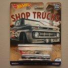 Hot Wheels 2018 Car Culture Shop Trucks Custom '62 Chevy Pickup