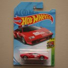 Hot Wheels 2018 HW Exotics Lamborghini Countach Pace Car (red)
